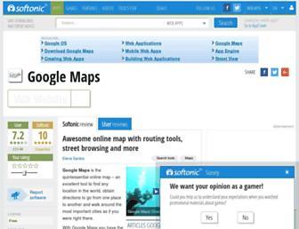 google-maps.en.softonic.com screenshot