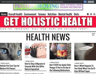 Thumbshot of Getholistichealth.com