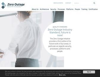 zero-outage.com screenshot