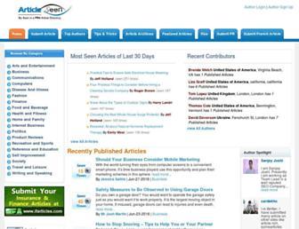 Thumbshot of Articleseen.com