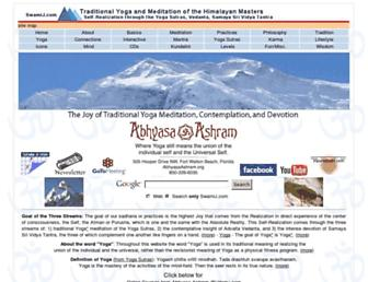 swamij.com screenshot