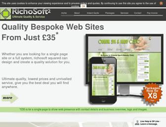 richosoft2.co.uk screenshot