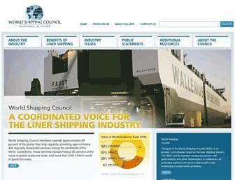 worldshipping.org screenshot