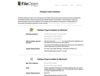 plugin.fileopen.com screenshot