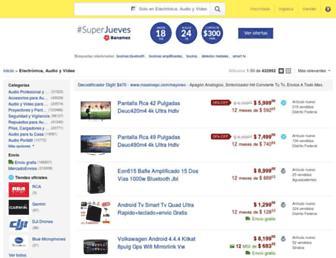 electronica.mercadolibre.com.mx screenshot