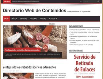 directoriowebz.com screenshot