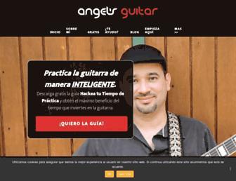 angelsguitar.com screenshot