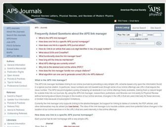 link.aps.org screenshot
