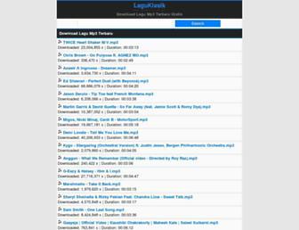 laguklasik.net screenshot