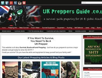 Thumbshot of Ukpreppersguide.co.uk