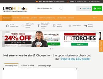 Thumbshot of Ledhut.co.uk