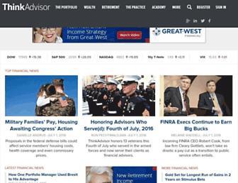 thinkadvisor.com screenshot