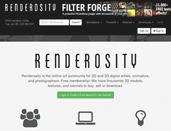Thumbshot of Renderosity.com
