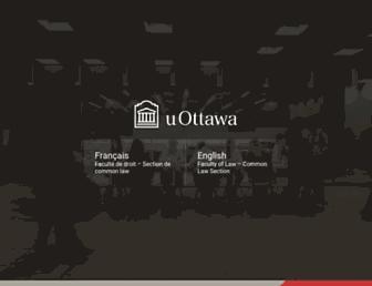 commonlaw.uottawa.ca screenshot