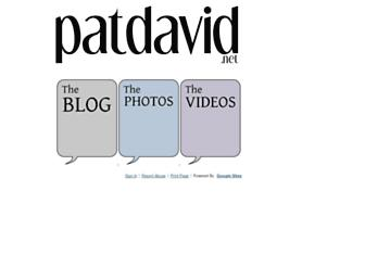 patdavid.net screenshot