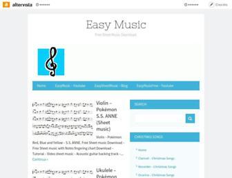 easymusic.altervista.org screenshot