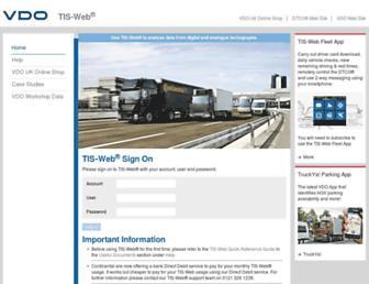 vdo-tis.co.uk screenshot