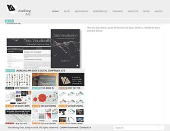 visualisingdata.com screenshot