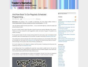 tradersnarrative.com screenshot