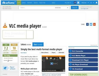 vlc-media-player.en.softonic.com screenshot