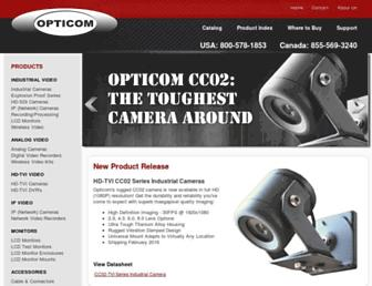 opticomtech.com screenshot