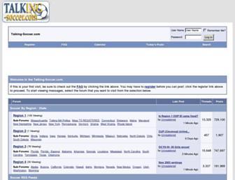 Thumbshot of Talking-soccer.com