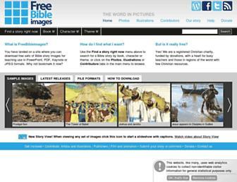 freebibleimages.org screenshot