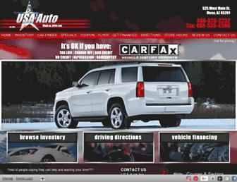 usaautoaz.com screenshot
