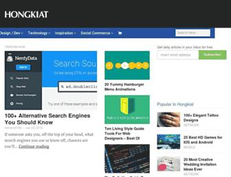 hongkiat.com screenshot