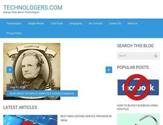 Thumbshot of Technologers.com