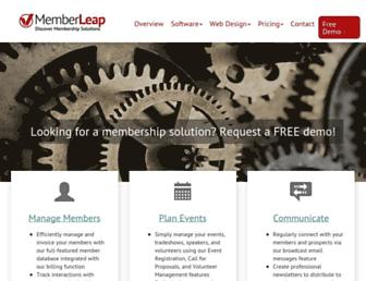 memberleap.com screenshot