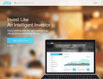 jitta.com screenshot