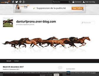danturfprono.over-blog.com screenshot