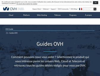 docs.ovh.com screenshot
