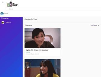 tvenvivoecuador.com screenshot