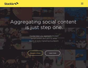 Thumbshot of Stackla.com