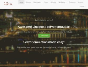 l2jserver.com screenshot