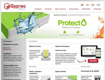 gyptec.eu screenshot