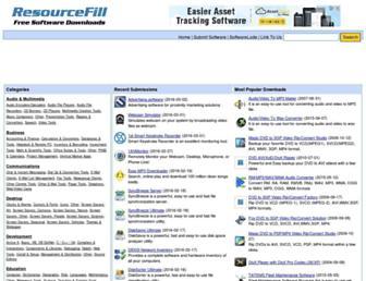 resourcefill.com screenshot