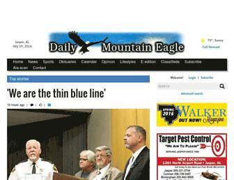 mountaineagle.com screenshot
