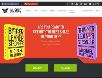 Thumbshot of Muscleforlife.com