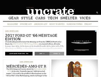 uncrate.com screenshot