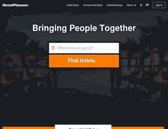 hotelplanner.com screenshot