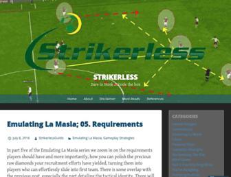 strikerless.com screenshot