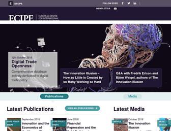 ecipe.org screenshot