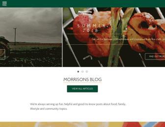 my.morrisons.com screenshot