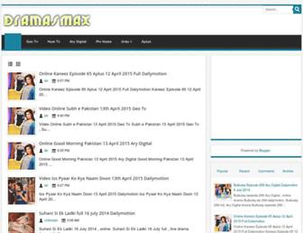 dramas121.blogspot.com screenshot