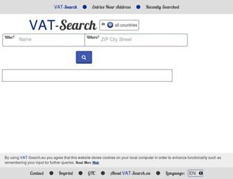 vat-search.eu screenshot