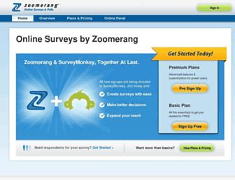 Thumbshot of Zoomerang.com
