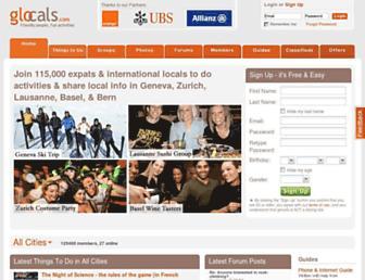 glocals.com screenshot